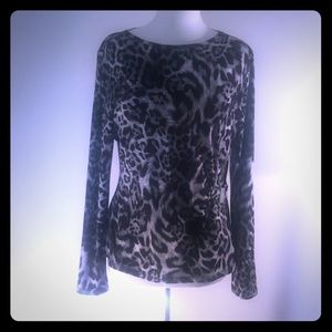 A. Michael Michael Kors L printed blouse